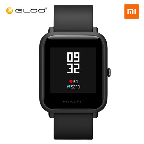Mi Amazfit Bip English UI Xiaomi Mi Fit App Huami Pace Lite Youth Smartwatch Waterproof IP68 (Official Mi Malaysia) - Black