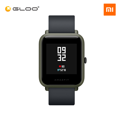 Mi Amazfit Bip English UI Xiaomi Mi Fit App Huami Lite Youth Smartwatch Waterproof IP68 (Official Mi Malaysia) Green