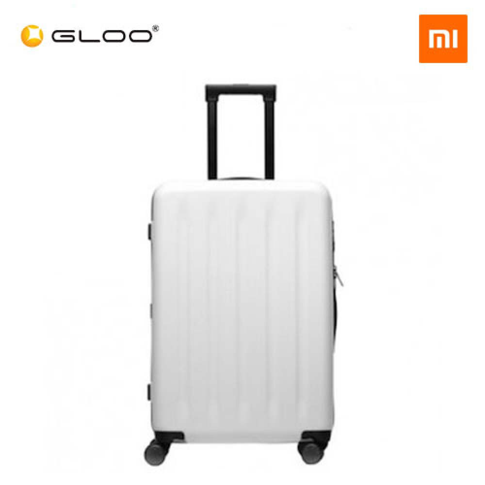 "Mi Trolley 90 Points Suitcase 24"" (White)"