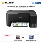 Epson EcoTank L3150 Wi-Fi All in-One Ink Tank Printer *Bundle 1 set CMYK ink