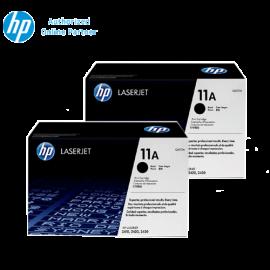 [Set of 2] HP 11A Black Laserjet Toner (Q6511A)