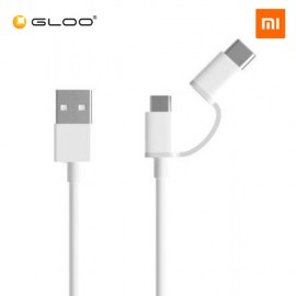 Mi 2-in-1 USB Cable Micro USB to Type C - 30cm