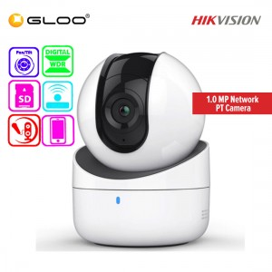 Hikvision CCTV 1.0 MP Network PT Camera DS-2CV2Q01EFD-IW 4MM