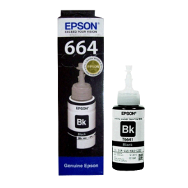 Epson T6641 (C13T66414A) Ink Cartridge - Black