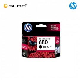 [4 Units] HP 680 Black Original Ink Advantage Cartridge F6V27AA