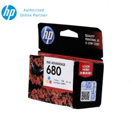 [Set of 4] HP 680 Tri-Color Ink Cartridge
