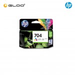 HP 704 Tri-Color Original Ink Advantage Cartridge CN693AA