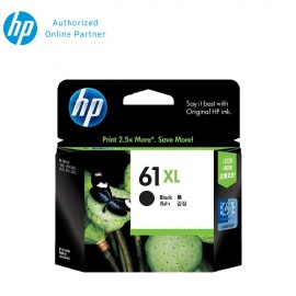 HP 61XL (CH563WA) Ink Cartridge - Black