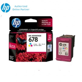 [4 Units] HP 678 Tri-color Original Ink Advantage Cartridge CZ108AA