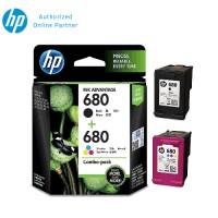 HP 680 Combo Pack Black/Tri-color Original Ink Advantage Cartridge X4E78AA