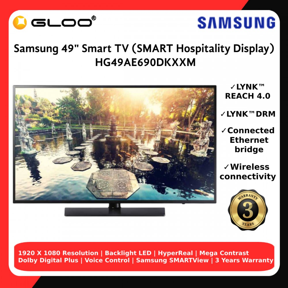 "Samsung 49"" Smart TV HG49AE690DKXXM"