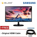 Samsung 23.5'' LED Monitor LS24F350FHEX/XM [Original HDMI Cable Included]