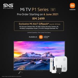 "[Pre-order] Xiaomi Mi P1 55"" TV [Arrives from 30 June onwards]"