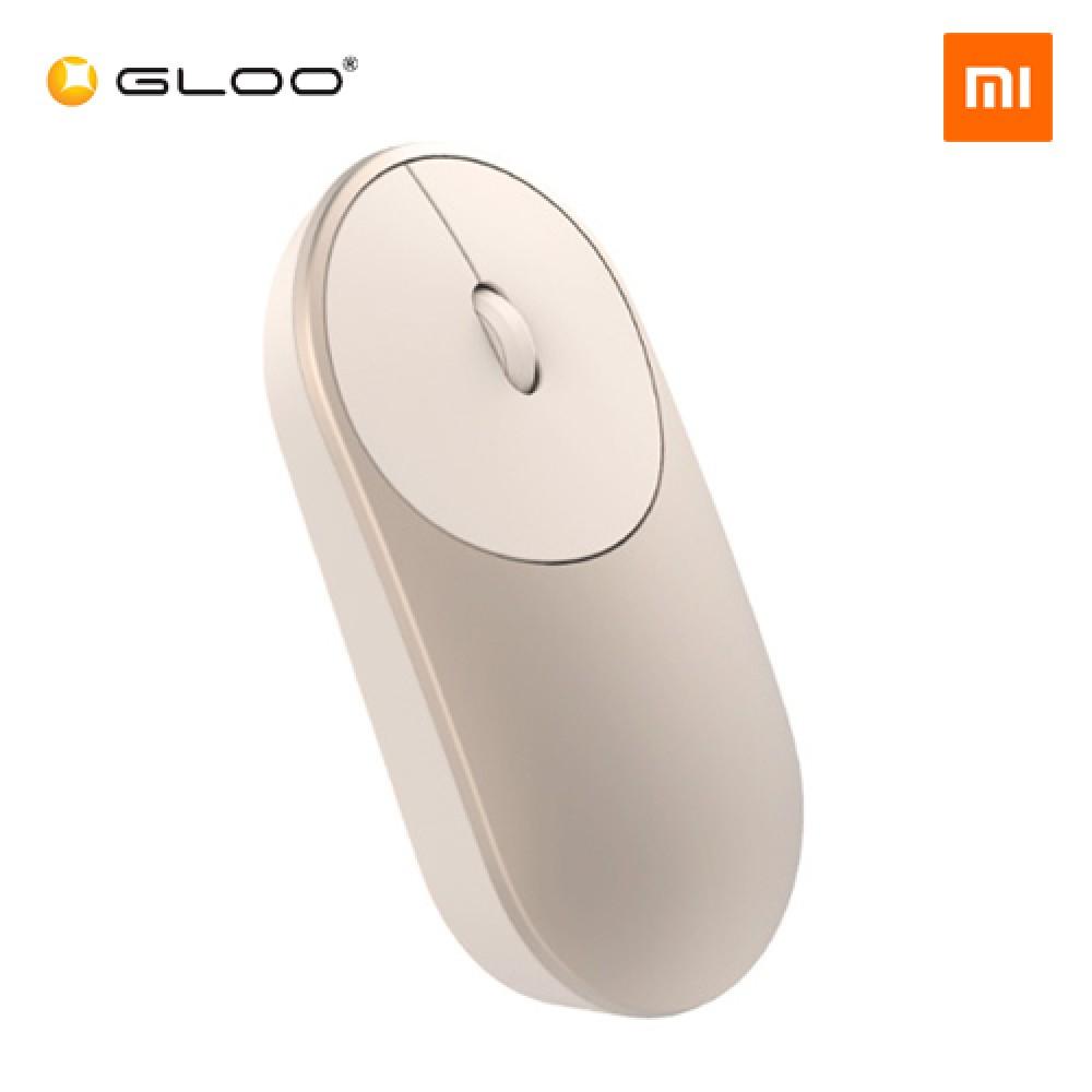 af946682c5d XIAOMI Mi Portable Mouse Bluetooth + 2.4G Wireless Aluminium Dual Mode Gold  (Original Mi