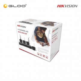 Hikvision DVR & Camera Kit NK42W0-1T(WD) 2MP Bullet CCTV Kit