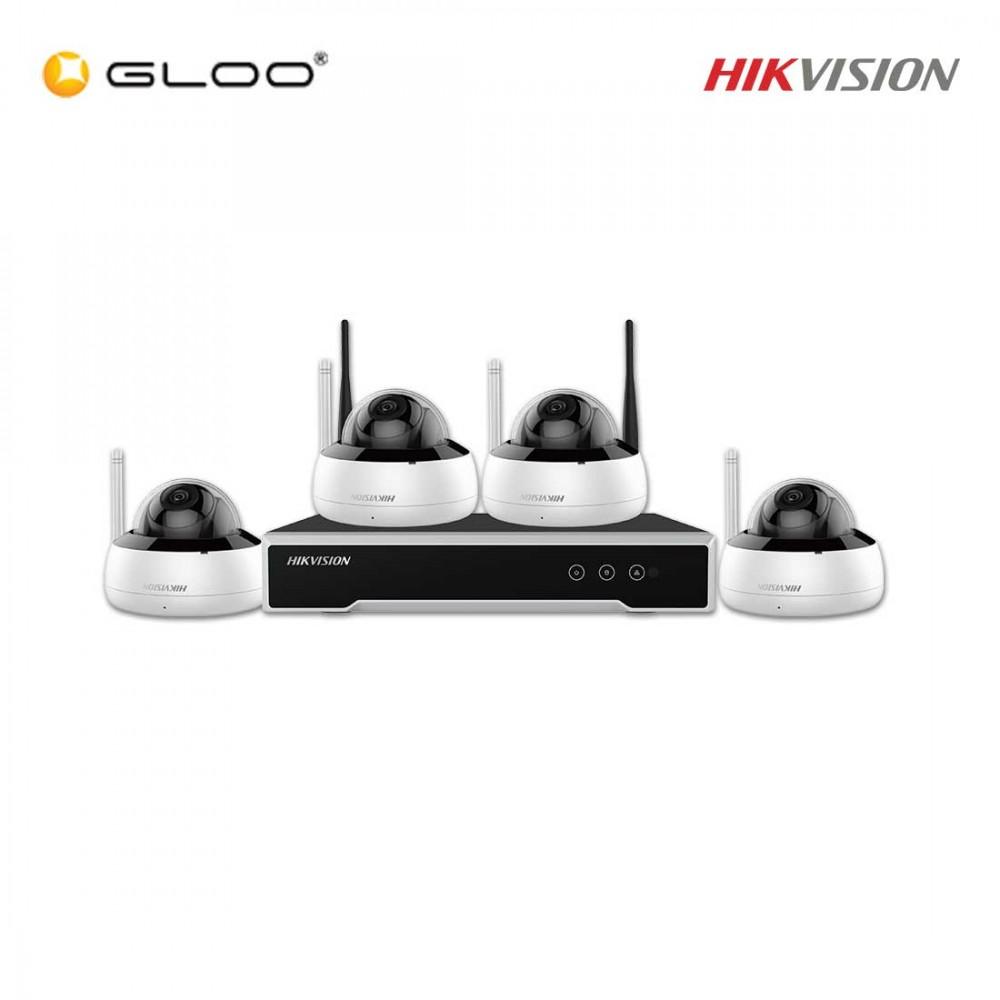 Hikvision DVR & Camera Kit NK44W1H-1T(WD) 4MP Dome CCTV Kit
