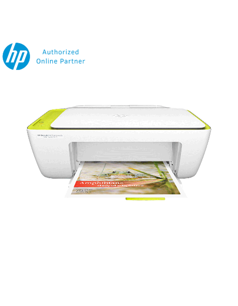 HP Deskjet Ink Advantage 2135 AIO Printer - White Free HP 680 Color Ink