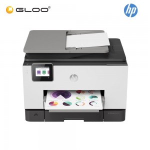 HP Color Wireless OfficeJet Pro 9020 All-in-One Printer (Print/Scan/Copy/Fax/Auto-Duplex) (1MR73D) [*FREE Redemption RM80 Touch 'n Go e-credit]
