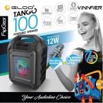 Vinnfier Tango 100 Portable Speaker - Grey
