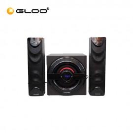 Vinnfier Ultra 7 BTR 2.1 Speaker System 7 Colour Pulsating LED