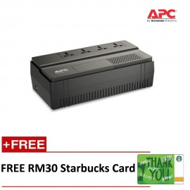 APC Back UPS BV 800VA AVR IEC Outlet 230V BV800I-MS