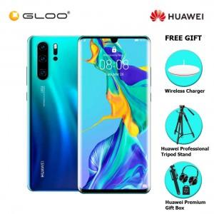 Huawei P30 Pro 8GB+256GB Aurora + FREE Huawei Wireless Charges CP60 6901443259328,Huawei Professional Tripod Stand,Premium Gift Box (Headset/Selfie Stick/iRing)