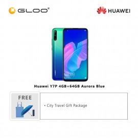 Huawei Y7P 4GB+64GB Aurora Blue [FREE Huawei City Travel Gift Package (Pkg Promo) HWP0052]