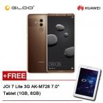 Huawei Mate 10 Pro Mocha Brown (128GB/6GB RAM) BLA-L29 FREE JOI 7 Lite - 3G Pearl White PN:AK-M728