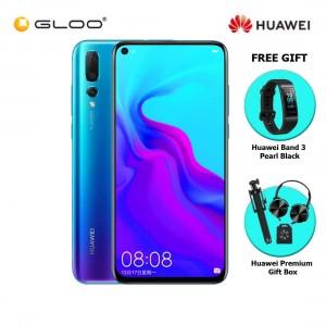 Huawei Nova 4 8GB+128GB Crush Blue [FREE Huawei Band 3 Pearl Black and Premium Gift Box (Headset/Selfie Stick/iRing)]