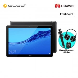 Huawei Mediapad T5 3GB+32GB Black + FREE Premium Gift Box (Headset/Selfie Stick/iRing)