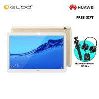 Huawei Mediapad T5 3GB+32GB Champagne Gold + FREE Premium Gift Box (Headset/Selfie Stick/iRing)