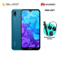 HuaweiY5 2019 2GB+32GB Sapphire Blue + FREE Premium Gift Box (Headset/Selfie Stick/iRing)