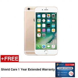 IPHONE 6 32GB - GOLD [FREE Shield Care 1 Year Extended Warranty]