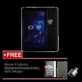 JOI 7 Lite - 3G Charcoal Black PN:AK-M728 {Free Screen Protector + Miracase- Black + OTG Adapter}