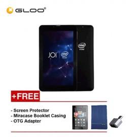 [REFURBISHED] JOI 7 Lite - 3G Charcoal Black PN:AK-M728 {Free Screen Protector + Miracase- Blue + OTG Adapter}