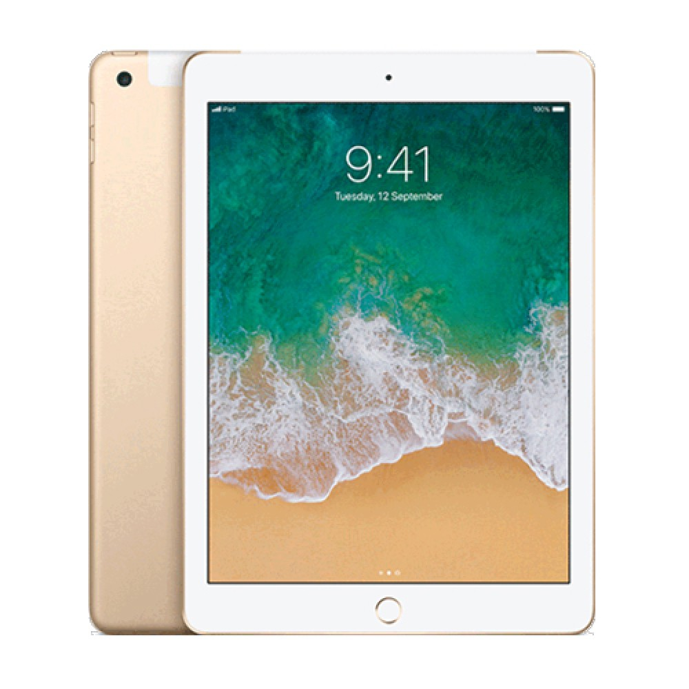 Apple Ipad Wifi Cellular 32GB Gold PP/AP/MPG42ZP/A+Shield Care - 1 Year Extended Warranty (Coverage up to RM6,999)