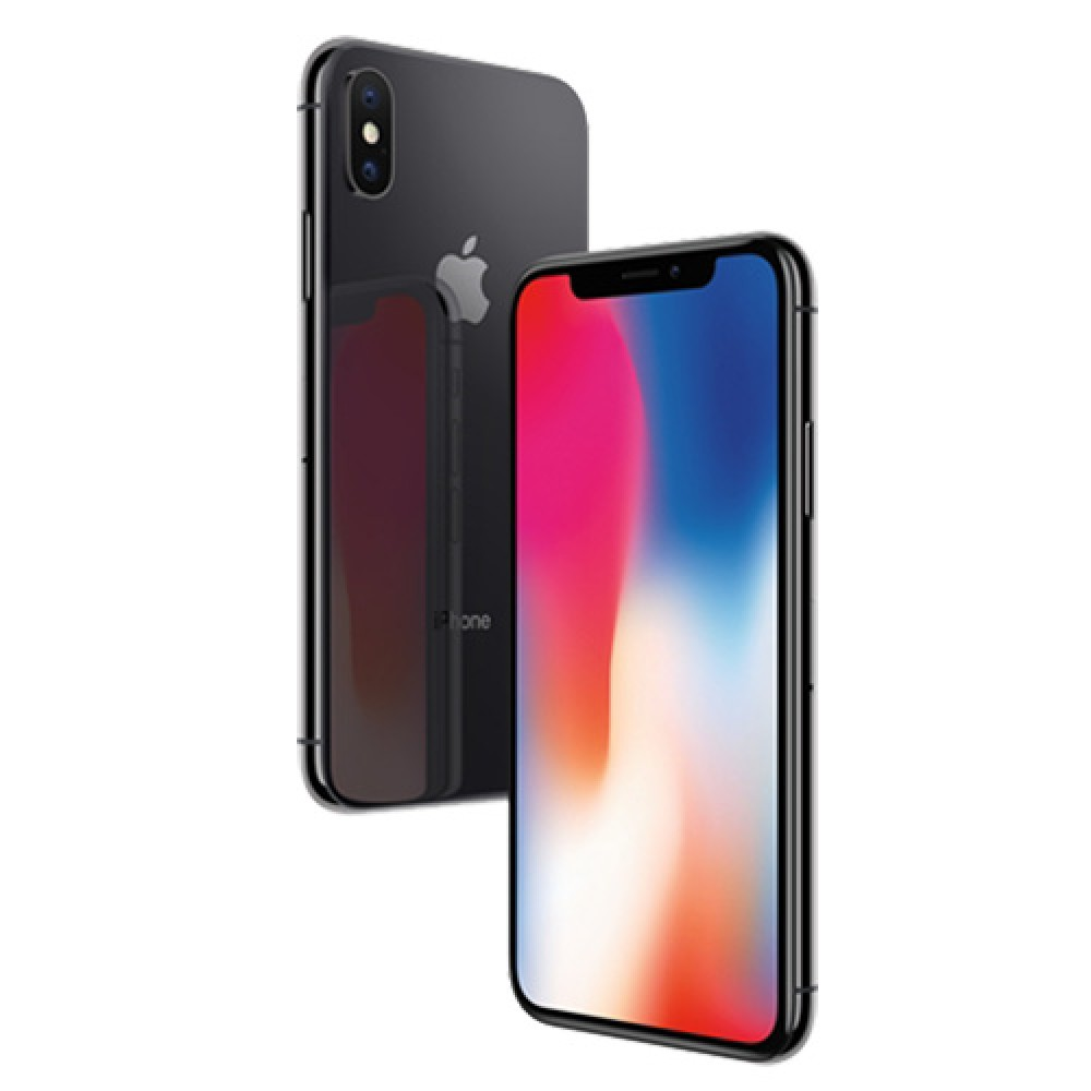 Apple iPhone X 64GB Space Grey MQAC2MY/A (Free ROCK Deluxe Windshield Phone Holder)