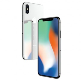 Apple iPhone X 64GB Silver MQAD2MY/A (Free ROCK Deluxe Windshield Phone Holder)