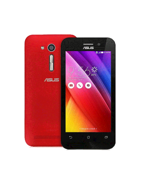 "Asus Zenfone C ZC451CG-1C025WW 6.0"" Smartphone (3GB, 16GB) - Red"