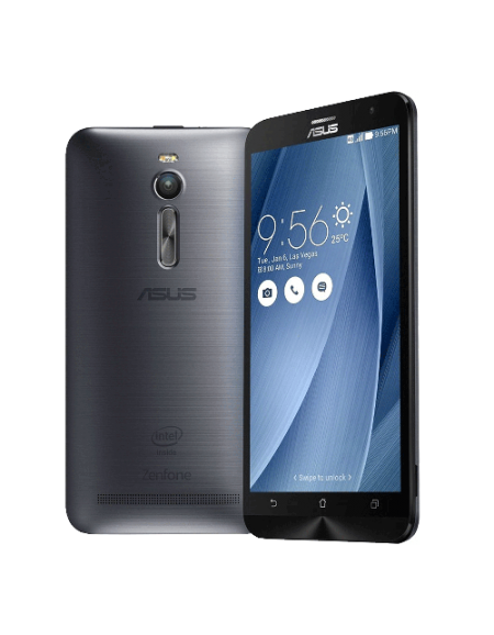 "Asus Zenfone 2 ZE551ML-6J289WW 5.5"" Smartphone (4GB, 32GB) - Silver"