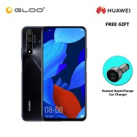 Huawei Nova 5T 8GB+128GB Black FREE Huawei SuperCharge Car Charger