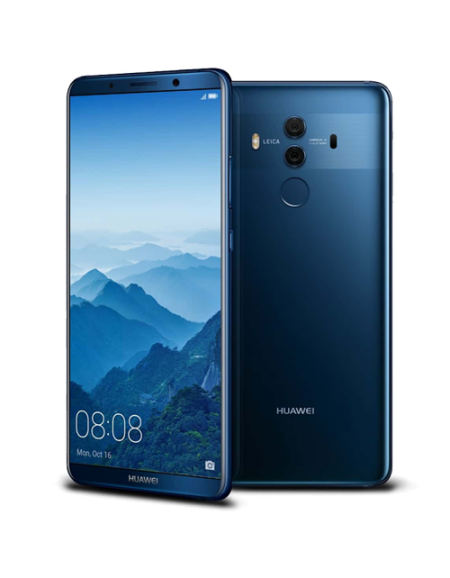 "Huawei Mate 10 Pro 6.0"" Smartphone (4GB, 64GB) - Midnight Blue Free 1 year extended warranty + Huawei Selfie Stick Gift Box"