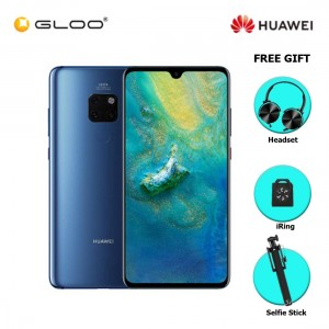 Huawei Mate 20 6GB+128GB Midnight Blue [Free Premium Gift Box (Headset/Selfie Stick/iRing)]