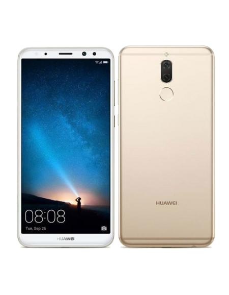 "Huawei Nova 2i 5.9"" Smartphone (4GB, 64GB) - Gold Free Shield Care 1 Year Extended Warranty"