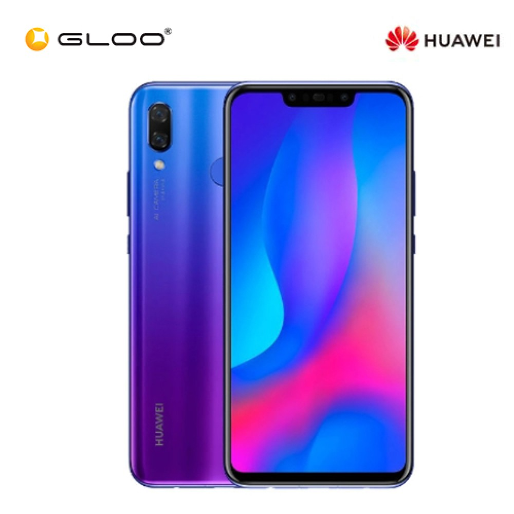 Huawei Nova 3 Purple (6GB RAM + 128GB ROM) Warranty By Huawei Malaysia