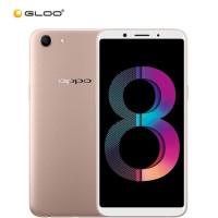 "OPPO A83  5.7"" Smartphone (Octa-core, 3GB, 32GB, 13MP, Android 7.1, Dual SIM) - Gold"