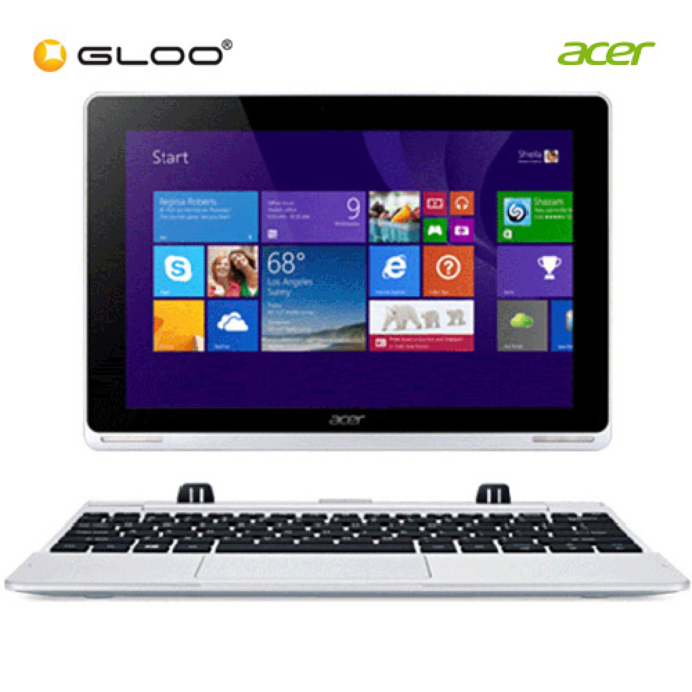 "Acer Aspire Switch 10 SW5-012-187Xi 10.1"" Laptop (Atom Z3735F, 2GB, 32GB, Intel, W8.1) - Grey"