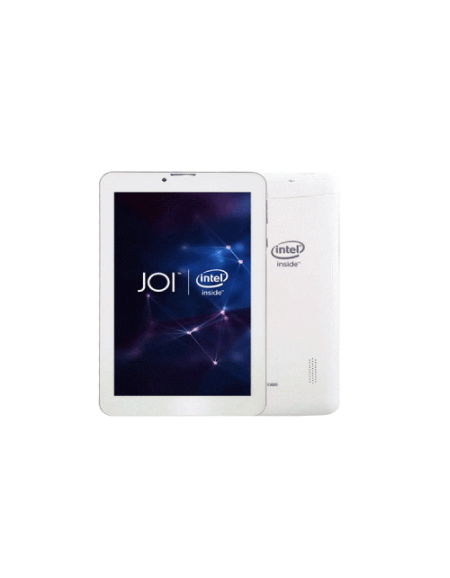 JOI 7 Lite 3G AK-M728 7.0'' Tablet (1GB, 8GB) - Pearl White Free Screen Protector + Miracase Booklet Casing