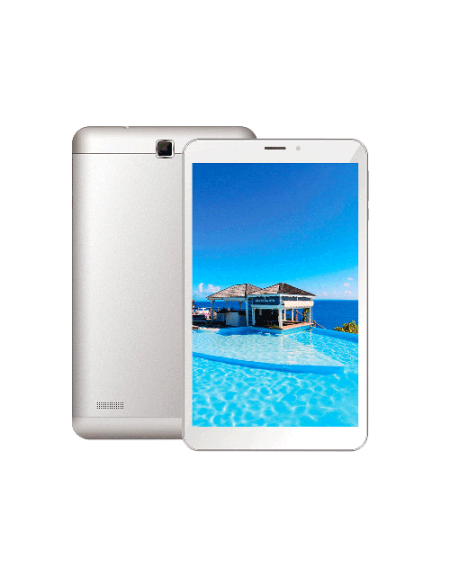 Joi 8 Lite AK-M845 8.0'' Tablet (2GB, 16GB) - Silver White FREE Screen Protector + Casing