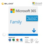 Microsoft 365 Family 15 Months- ESD [Previously Known as Office 365 Home] 6GQ-01403